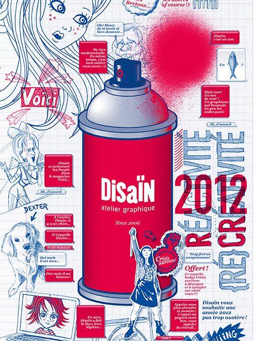 Disaïn, vœux 2012